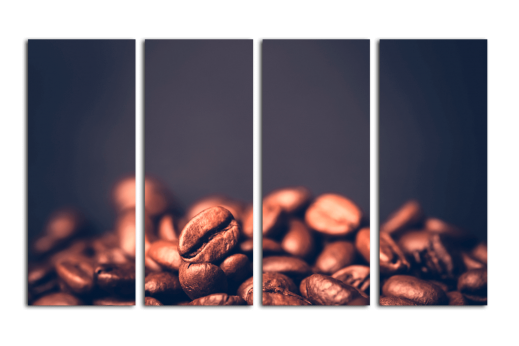 Модульная картина Кофейные зерна