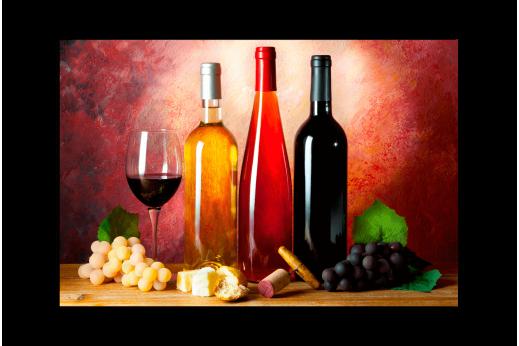 Картина Винные бутылки